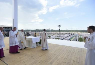 Viaggio Apostolico Polonia GMG-S. Messa per la GMG